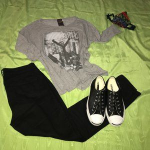 Moon Collection Graphic T-shirt Sz M